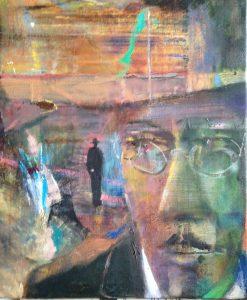 oil on canvas 61 cm x 51 cm 2016